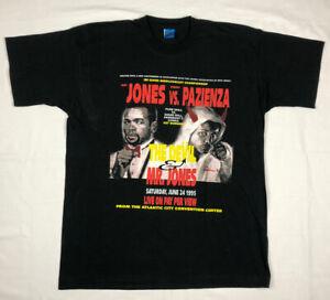 Vtg Roy Jones Jr Vs Vinny Pazienza Mens Boxing T-Shirt XL 90s Devil Mr Jones