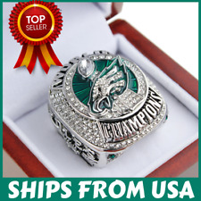 FROM USA - Super Bowl LII Ring 2017 2018 Official PHILADELPHIA EAGLES Champions