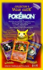 Pokemon Collectors Value Guide: Secondary Market Price Guide and Collector Hand