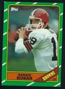 1986 Topps Bernie Kosar #187 Rookie Cleveland Browns