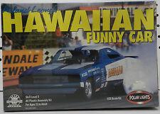 1969 FUNNY CAR DODGE CHARGER HAWAIIAN DRAG RACE BOYS POLAR LIGHTS NOS MODEL KIT
