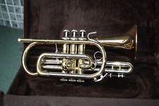 Vincent Bach Bb Cornet   184G XL Shepherds crook Gold brass bell REDUCED