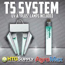 UV T5 GROW LIGHT FLUORESCENT FLORO T5HO HIGH OUTPUT UV-A PLUS Ultraviolet