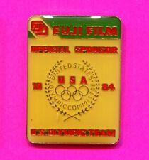 1984 Olympic Pin Fuji Official Sponsor Pin US Olympic USA Team Pin