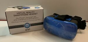 """ONN Virtual Reality Smartphone Headset - fits smartphones up to 6"""" - BRAND NEW!"""