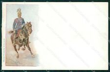 Military Russia Russian Soldier Horse postcard XF3652