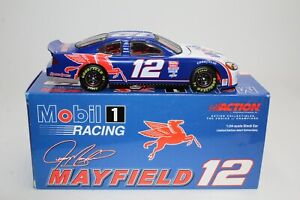 Jeremy Mayfield 2001 #12 Mobil 1 Ford Taurus 1:24 Action Limited Edition /3732