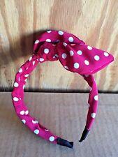 Rabbit Ears Knot Headbands Polka Dot Hair Band Bunny Hair Accessories US Stock