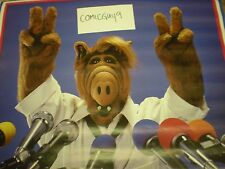 Vintage ALF FOR PRESIDENT POSTER (23 x 35 INCHES) REAL AND AUTHENTIC 1988