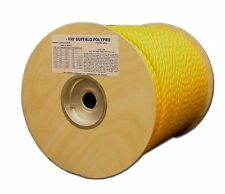 T.W . Evans Cordage 80-007 1/4-Inch by 300-Feet Buffalo Twisted Polypro Rope