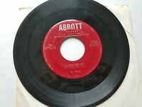 """JIM REEVES - I'll Follow You / Penny Candy 1954 COUNTRY 7"""" Abbott Records"""