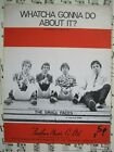"""""""WHATCHA GONNA DO ABOUT IT?""""    THE SMALL FACES,    SHEET MUSIC."""