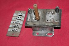 Corvette 1953,1954,1955 fuse panel and horn board