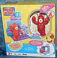 Mega Bloks Yo Gabba Gabba Muno Set 85001 New and Factory Sealed Very Rare Toys