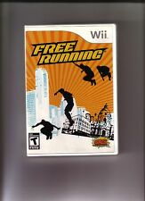 nintendo Wii Free Running original Replacement Case--NO GAME INCLUDED