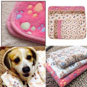 1Pc Fleece Decke Haustierdecke Tierdecke Hundedecke Katzedecke  Zwingermatte