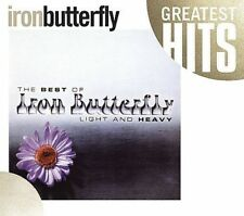 Light and Heavy Best of Iron Butterfly In-a-gadda-di-vida (CD) first 4 albums