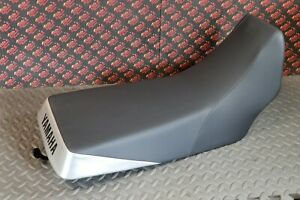 NEW Complete seat 1987-2006 Yamaha Banshee BLACK DIMPLE + SILVER + lettering