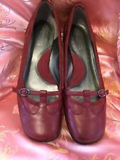 Kenneth Cole Flat Red Mary Jane shoes Size 8 1/2