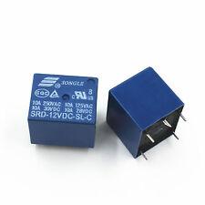 12V DC Coil SONGLE Power Relay SRD-12VDC-SL-C PCB Type pack of 1 pcs