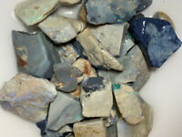 Australian Rough Opal parcel POTENTIAL LIGHTNING RIDGE COLOURS - 650 CTS VIDEO