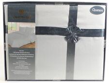 Queen 800TC Gray Bedding Set Sheets 4PC Pima Cotton Dell'Arte Luxury G3B