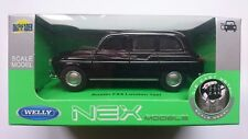 WELLY AUSTIN FX4 LONDON TAXI 1:34 DIE CAST METAL MODEL NEW IN BOX LONDON CAB
