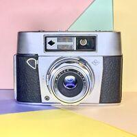 Agfa Super Silette Tested CLA'D Vintage 35mm Film Camera Lomo Working Order!
