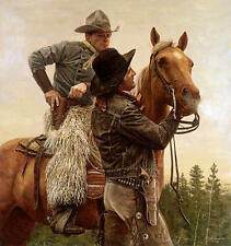 """Name Your Price"" Don Stivers Western Limited Edition Giclee Print"
