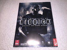 The Chronicles of Riddick: Assault on Dark Athena (Prima Guide) New Sealed