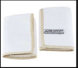 2 Josie Maran Microfiber & Muslin Cloth