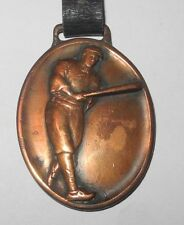 RARE 1920's TY COBB  Detroit Tigers baseball Pin Medal Watch FOB ELASTICA