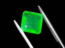 6.10 Ct Natural Certified Adorable Square Shape Colombian Gemstone