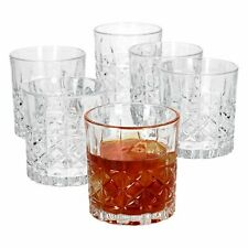Bluespoon Whisky Gläserset Tumbler Whisky Set 6 teilig 390 ml