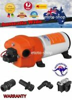 SEAFLO 12V 24V WATER PRESSURE PUMP 4.5GPM 17LPM 40 PSI Caravan Boat/Marine RV