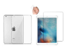 Crystal Soft TPU Back Case iPad Mini 1 2 3 Silikon Hülle Cover + Panzerglasfolie