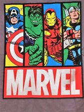 SPRINGS  MARVEL COMICS  BLOCKS  LICENSED PANEL 100% COTTON FABRIC NOW  ONLY 9.90