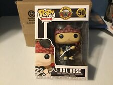 Funko Pop Vinyl Guns N Roses Axl Rose C9+ Global Shipping