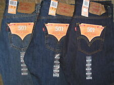 Levi's 501 Men's Button Fly Classic Jeans Fast Shipping New Authentic