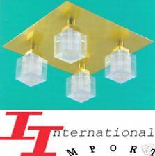 NEUF 129€ Lampe Verlichting PLAFONNIER LUXE luster KRISTAL plafonnier de salon