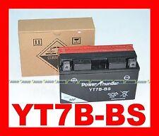BATTERIA MOTO E SCOOTER YT7B-BS  PT-BATTERY = YUASA YT7BBS YT7BB-S GT7B-4 GT7B4