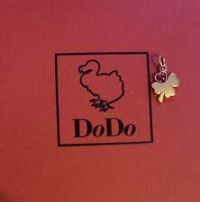 Dodo quadrifoglio in oro rosa con petalo a cuore