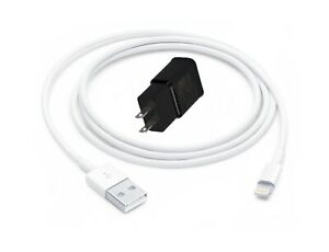 CRONEX USB iPhone Charging Cable With Fast Charging Power Adapter