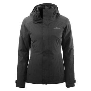 Kathmandu Talas Waterproof Windproof Duck Down 3 in 1 Hooded Jacket Coat Size 16