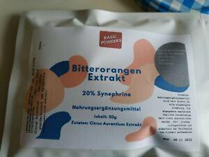 Bitterorangen Extrakt 20% Synephrine (50g)