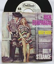 "7"" Billy Strange-High CHAPARRAL/High Noon single 1967"