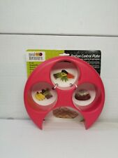 Meal Measure Portion Control on Your Plate Diet Weight Loss Healthy Tool Red