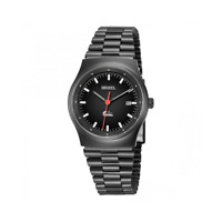 Breil Men's Watch Women's Manta Vintage TW1269 Date Display Steel Black 80