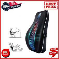 Lumbar Support for Office Chair Memory Foam Back Cushion with Breathable Mesh
