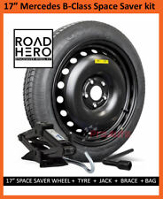"""17"""" MERCEDES B CLASS 2011 - 2018 SPACE SAVER STEEL SPARE WHEEL & TYRE + TOOLS"""